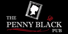 The Penny Black Pub Lab Logo
