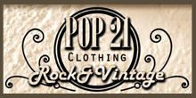 Pop 21 - Rock & Vintage Logo