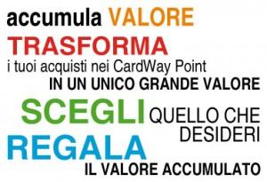 CardWay - Accumula Buoni Sconto e trasformali in Buoni Acquisto