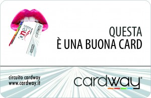 CardWay - La card che ti permette di accumulare Buoni Sconto e trasformarli in Buoni Acquisto